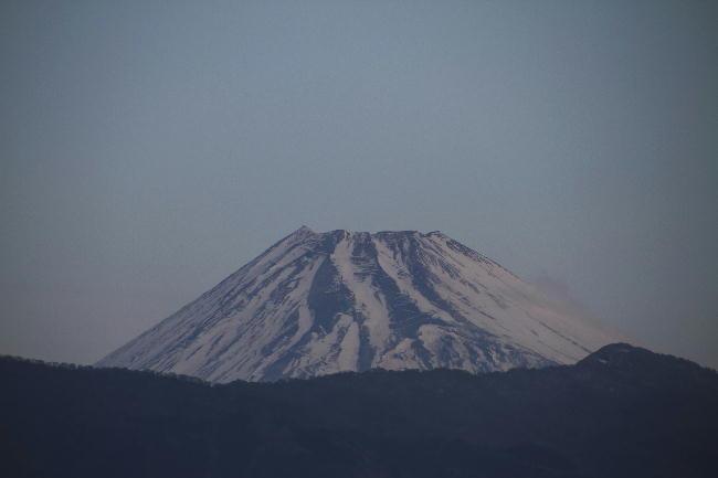 8日 6-47 今朝の富士山