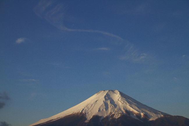忍野の富士山-2