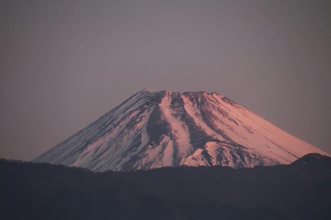 17日 6-25 今朝の富士山