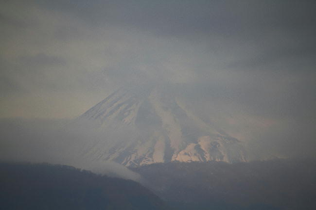 26日 6-28 今朝の富士山