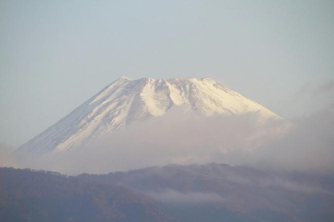 2日 6-46 今朝の富士山