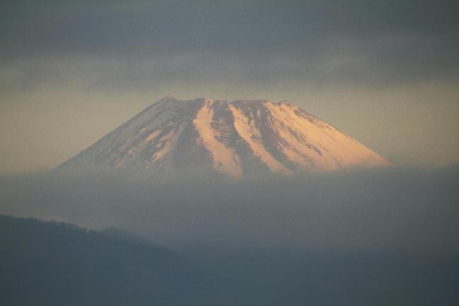 4日 6-20 今朝の富士山