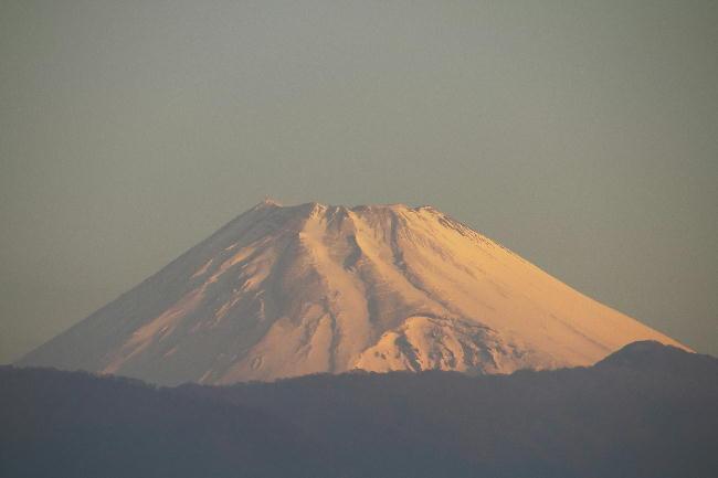 5日 6-22 今朝の富士山