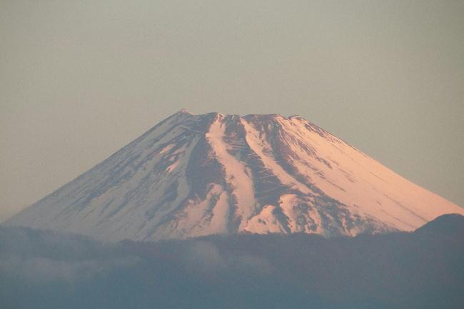 6日 6-12 今朝の富士山