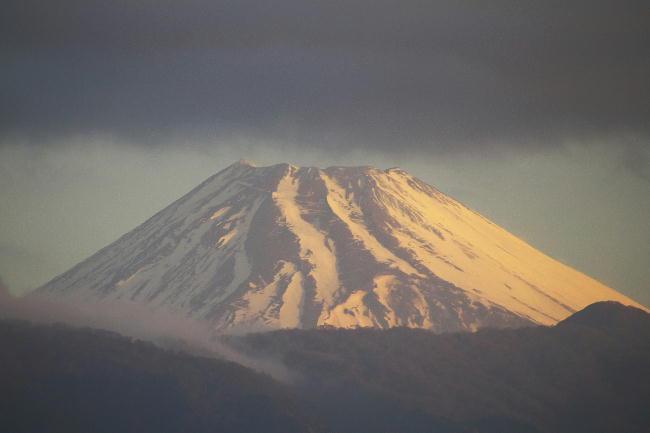 11日 6-11 今朝の富士山