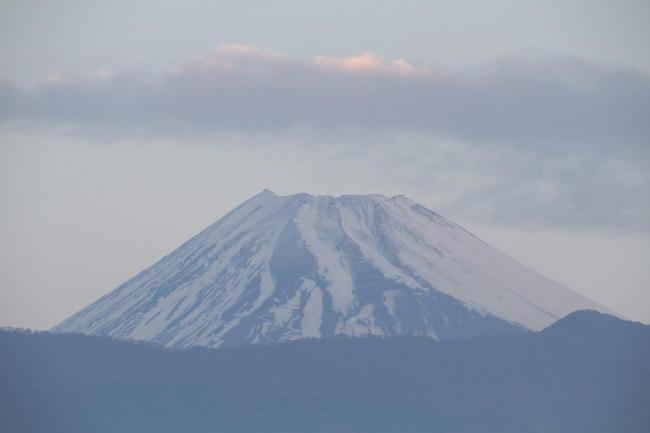 16日 6-6 今朝の富士山