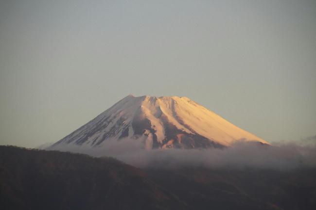 21日 5-58 今朝の富士山