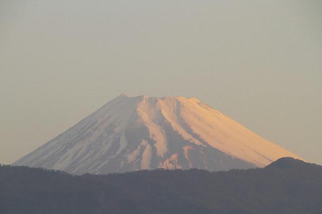 23日 5-54 今朝の富士山