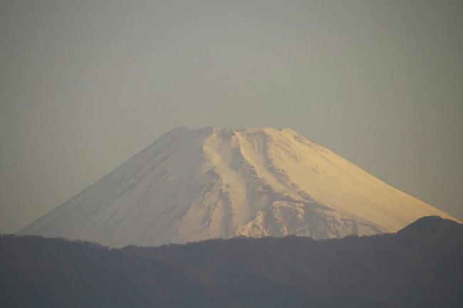 5日 5-52 今朝の富士山