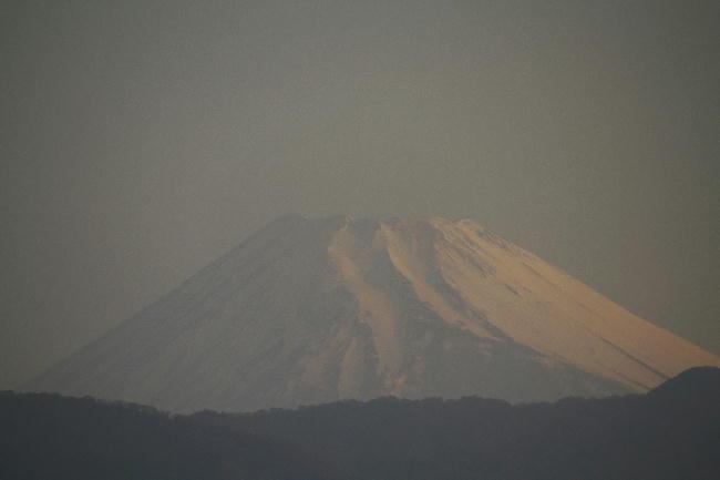 16日 5-38 今朝の富士山1