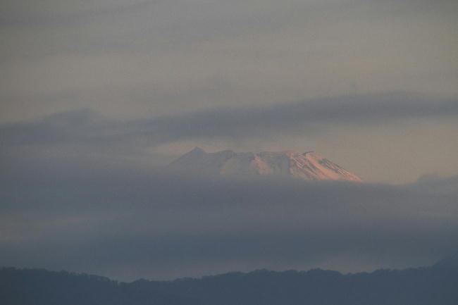 23日 5-16 今朝の富士山