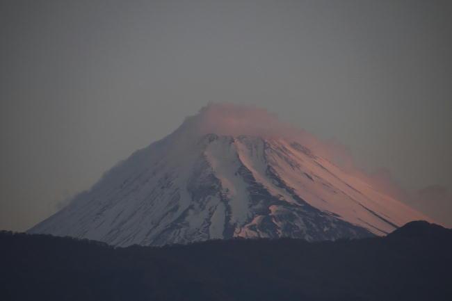27日 5-18 今朝の富士山