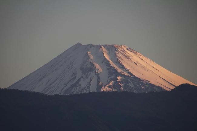 28日 5-15 今朝の富士山