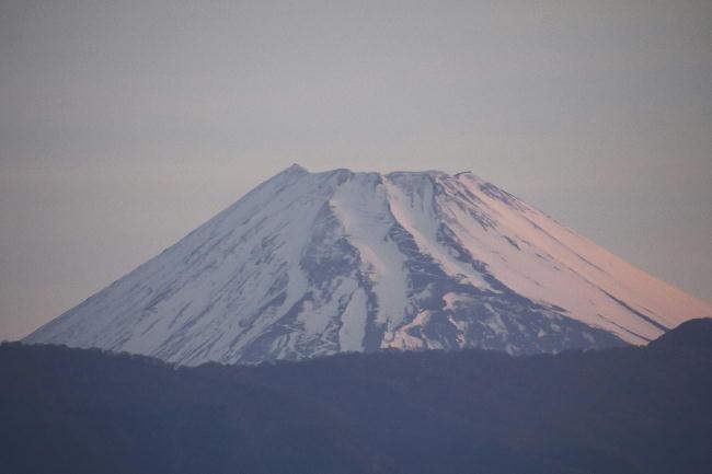 29日 5-17 今朝の富士山