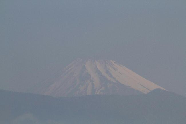 6日 6-52 今朝の富士山