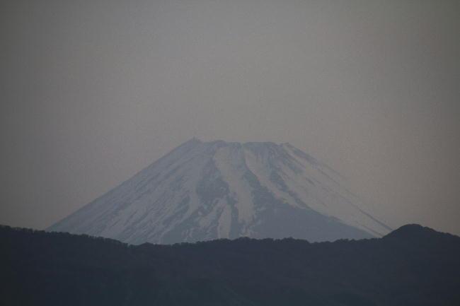 9日 4-56 今朝の富士山