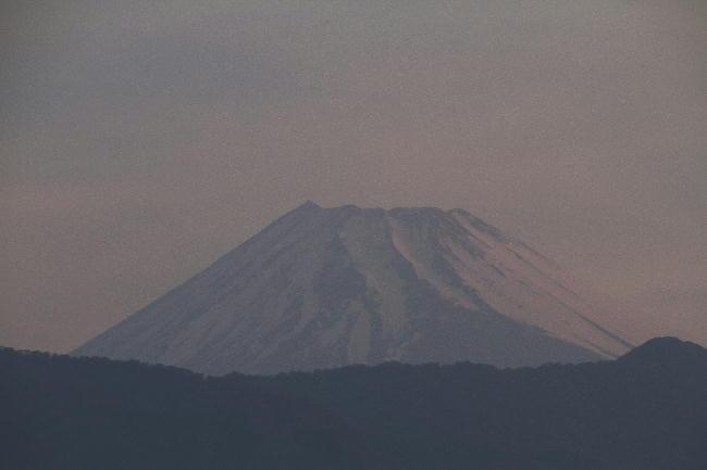 10日 4-59 今朝の富士山