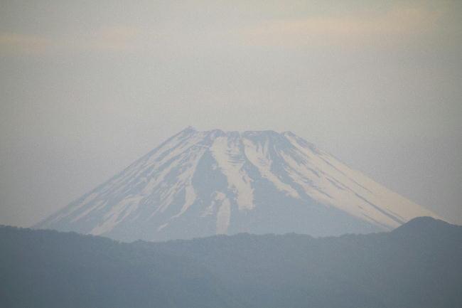 16日 4-56 今朝の富士山