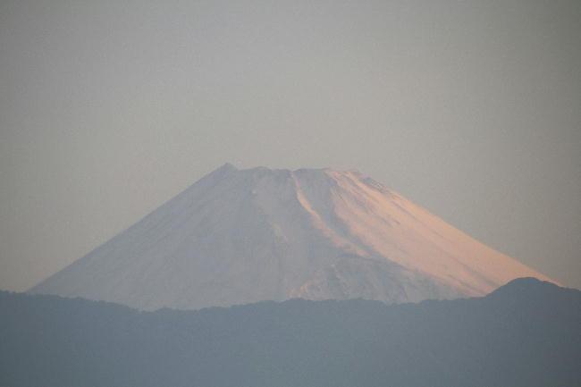 17日 4-54 今朝の富士山