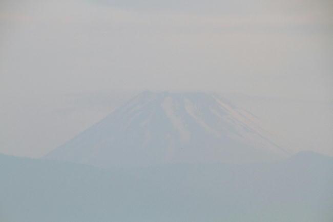 23日 4-54 今朝の富士山