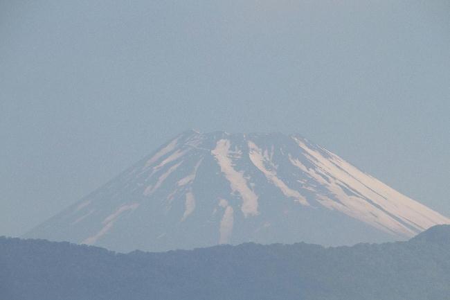 24日 7-04 今朝の富士山1