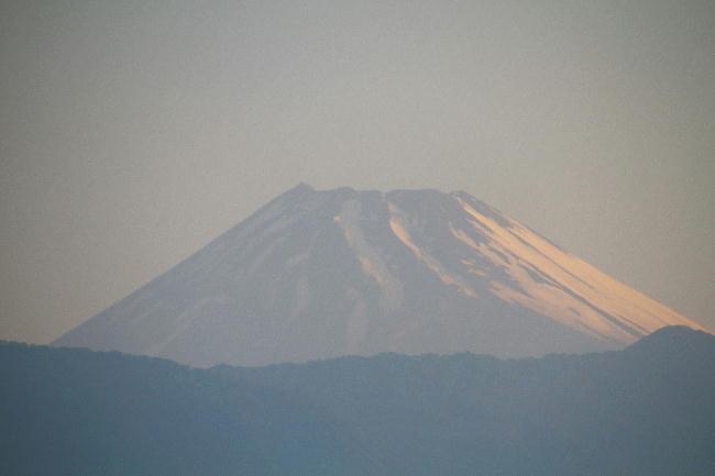 25日 4-58 今朝の富士山