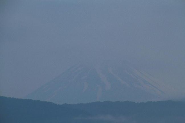 28日 4-53 今朝の富士山