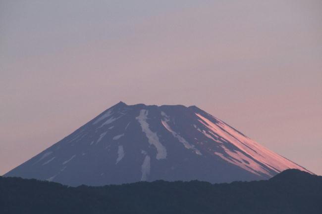 1日 4-32 今朝の富士山