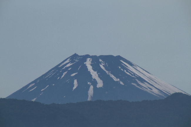 2日 4-42 今朝の富士山