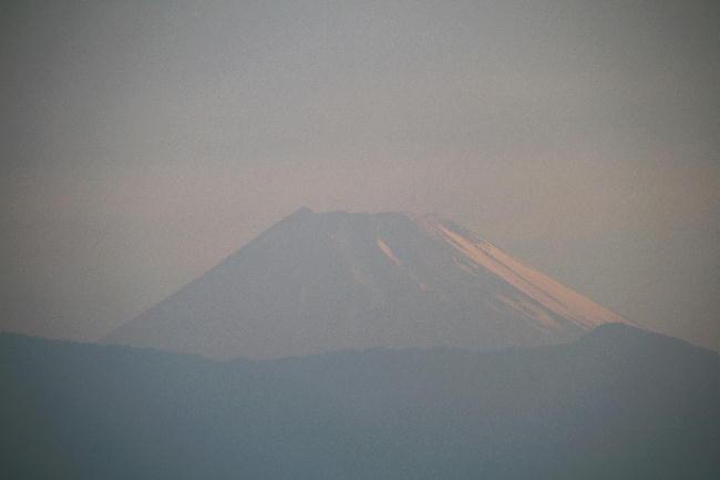 9日 4-54 今朝の富士山