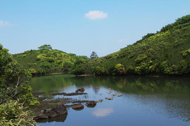 玄岳の池-1