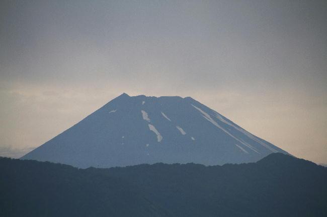 29日 4-54 今朝の富士山