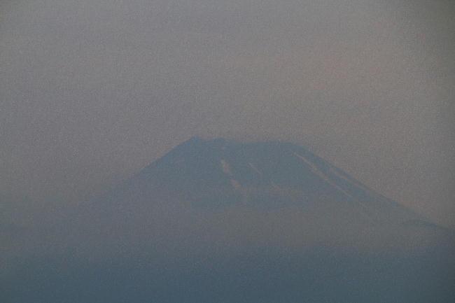 1日 5-00 今朝の富士山