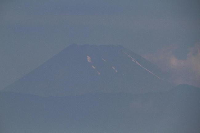 12日 9-37 今朝の富士山