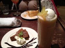 ハッピーグァバ+チョコレートスフレ shakers@ハービスin梅田