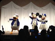 ドナルド+ミッキー+ミニー