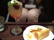 上海ラプソティ+シフォンケーキ shakers@ハービスin梅田