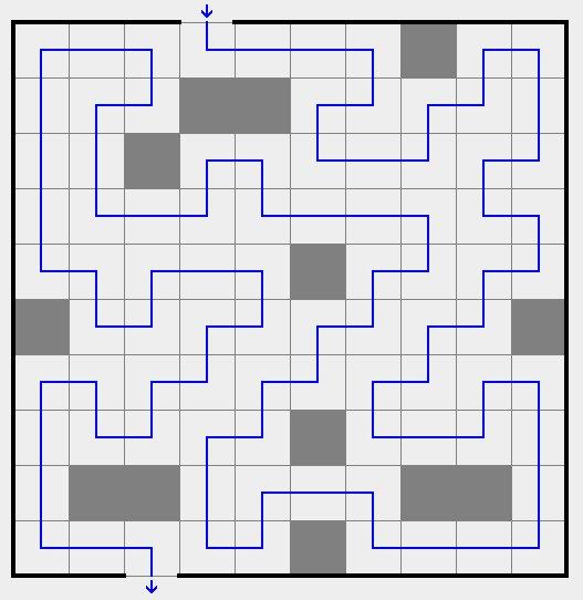 道順パズル上級例