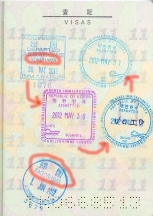 パスポート印