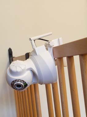 監視カメラ移動可能