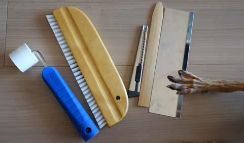 壁紙DIY道具
