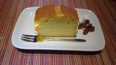 ブランデーケーキカット
