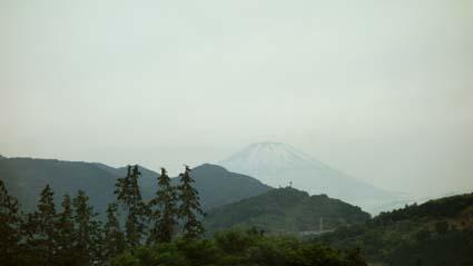 大井射撃場からの富士山
