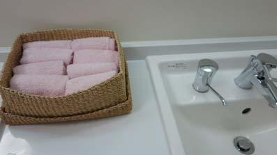 大井射撃場のトイレ