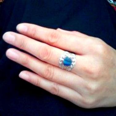 指輪お客様より