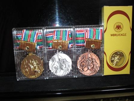 金・銀・銅メダル・キーホルダー