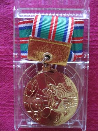 金メダル表