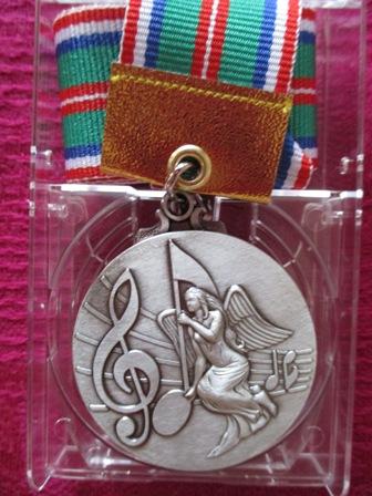 銀メダル表