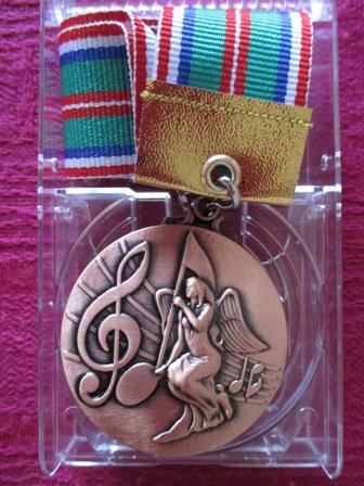 銅メダル表