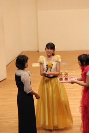 2013.6.22・メダル授与・Mちゃん・10回目